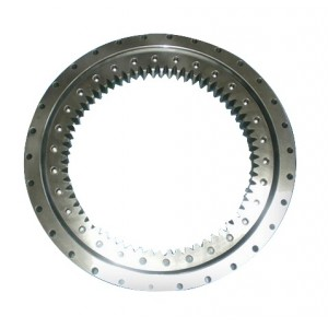 Single-row Four Point Contact Ball Type Slewing Bearing (Internal gear type)